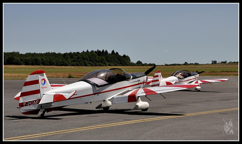 Voltige aérienne - Les CAP 10 de l'AVA