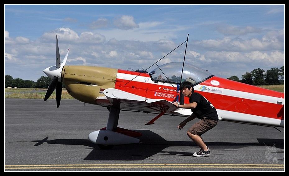 Voltige aérienne - Visite prévol cap 232