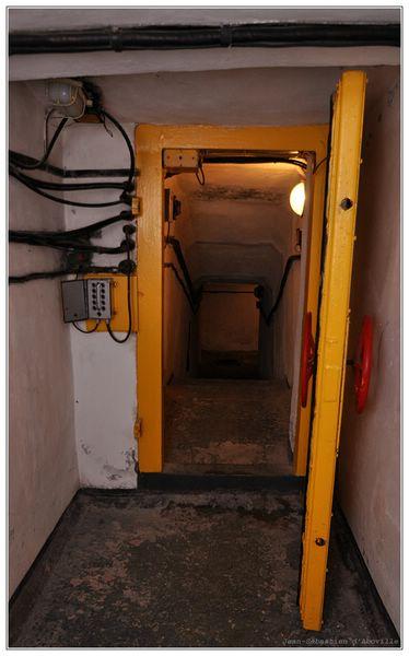 Base nucléaire URSS en Ukraine - L'entrée du bunker