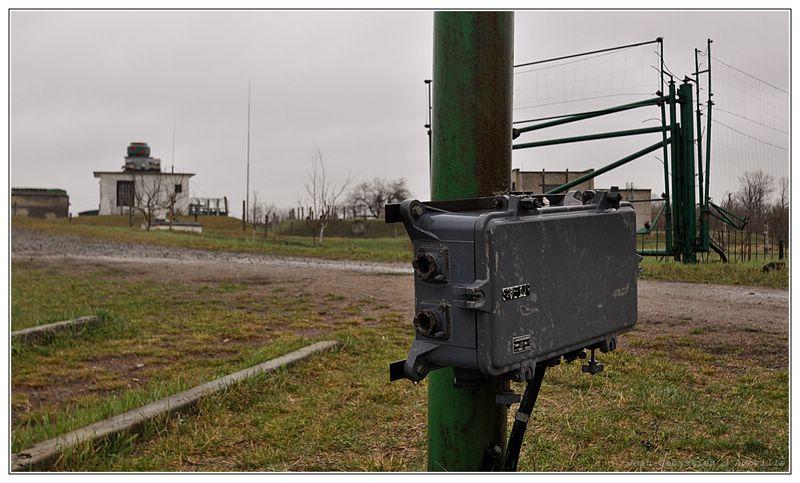Base nucléaire soviétique de Pervomaysk en Ukraine - Dispositif anti-intrusion au laser