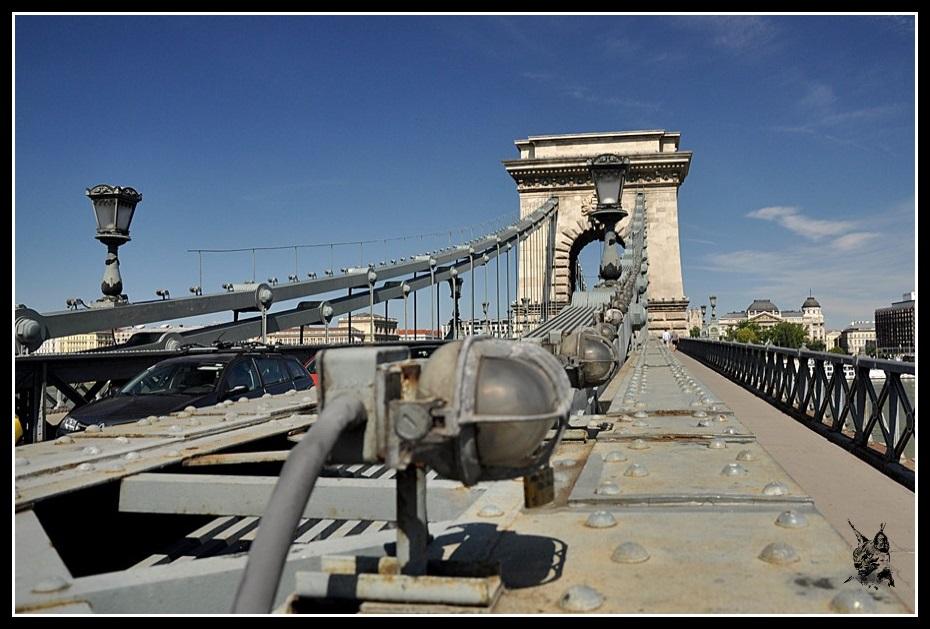 Budapest - Le pont aux chaines