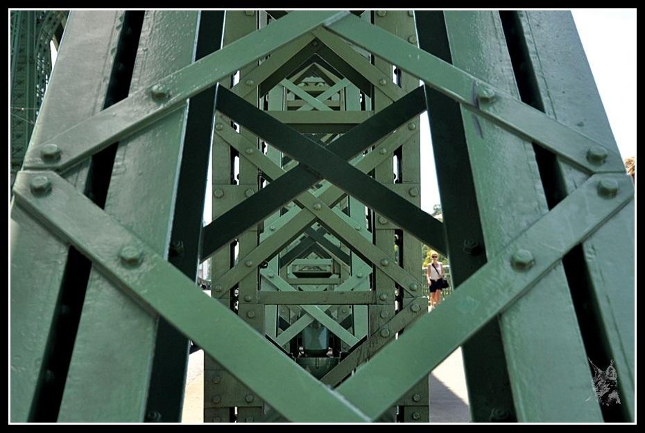 Budapest - Szabadság híd (Détail)