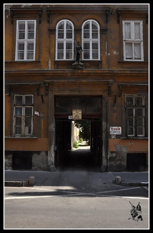 Budapest - Façade d'immeuble