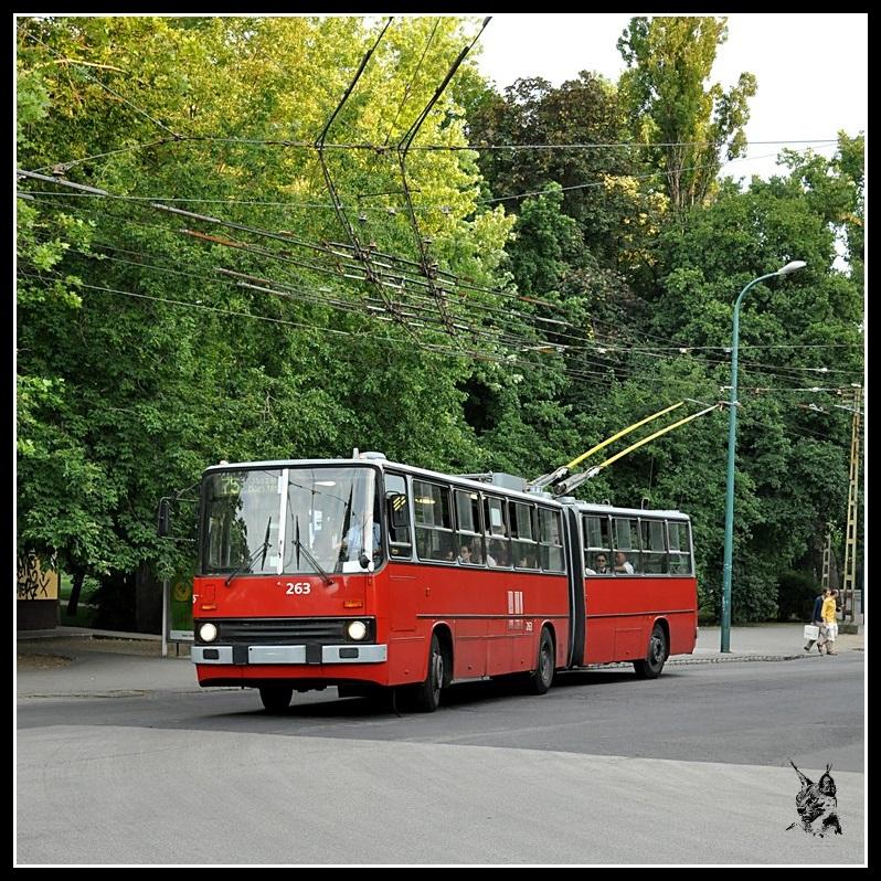 Budapest - Trolleybus