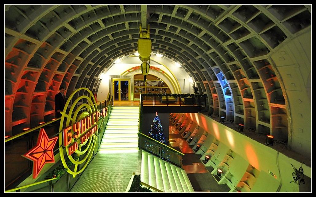 Le bunker 42 - Moscou, Russie - Ancienne base nucléaire Soviétique