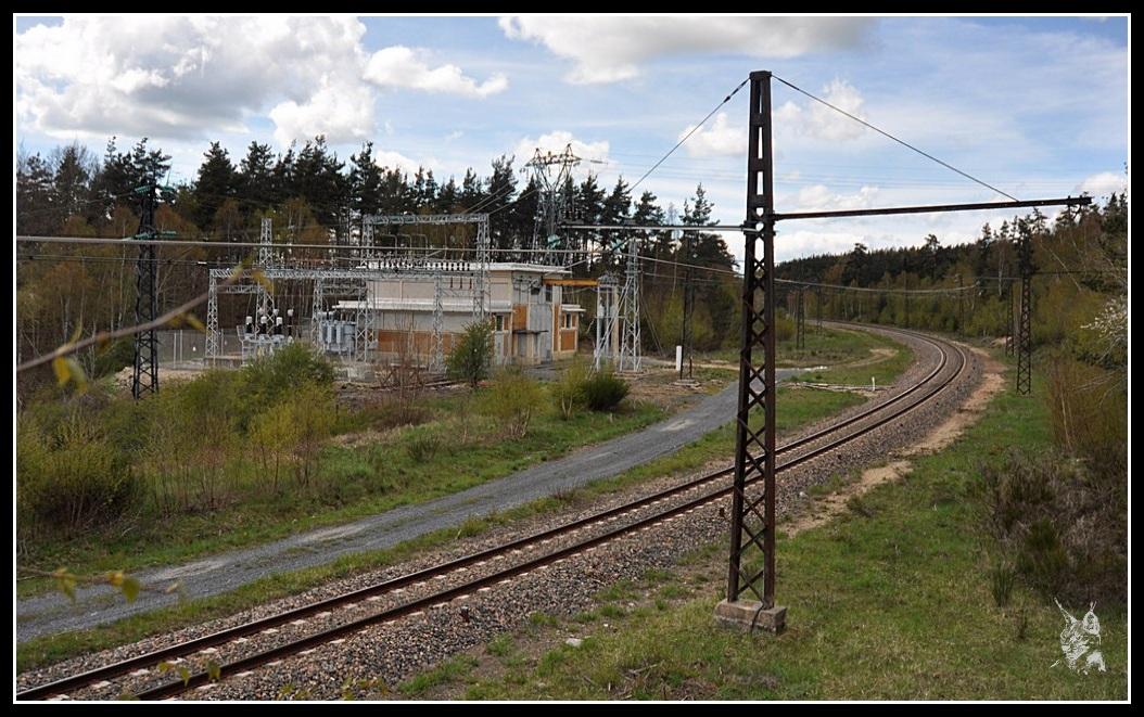 Lignes des causses -La sous-station d'Arcomie