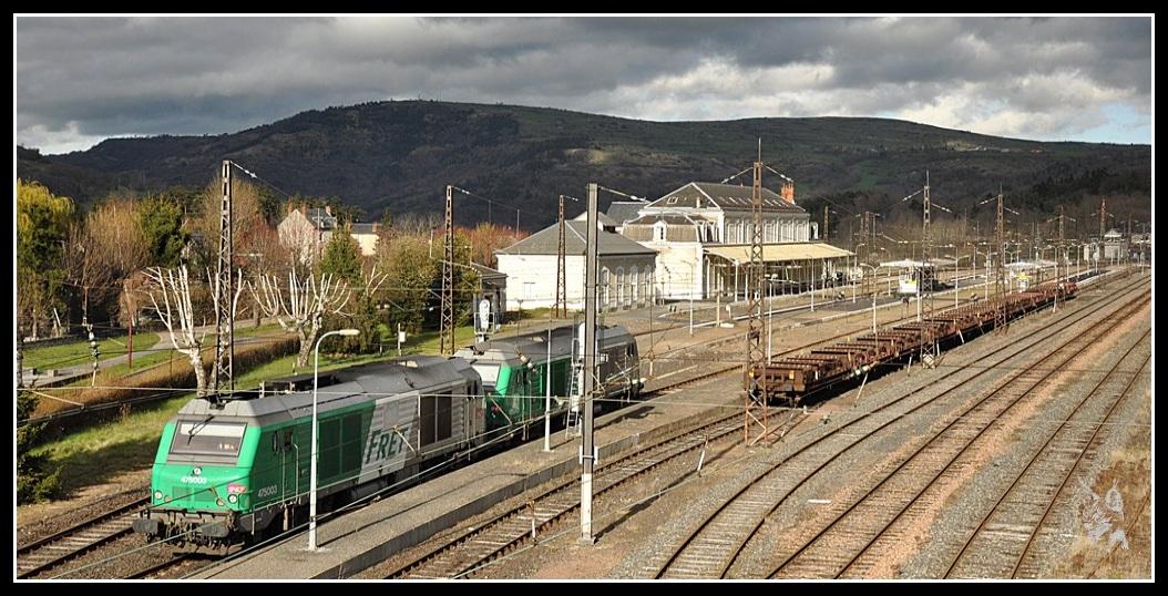 Ligne des Causses - Neussargues et BB 75000