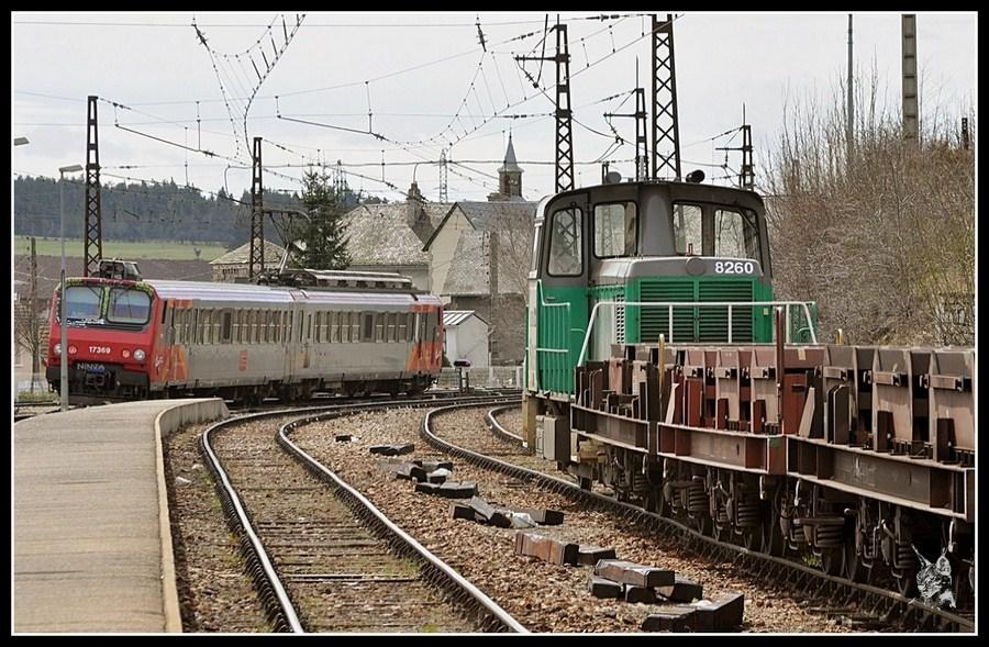 La ligne des Causses - Z2 à Saint Chély d'Apcher