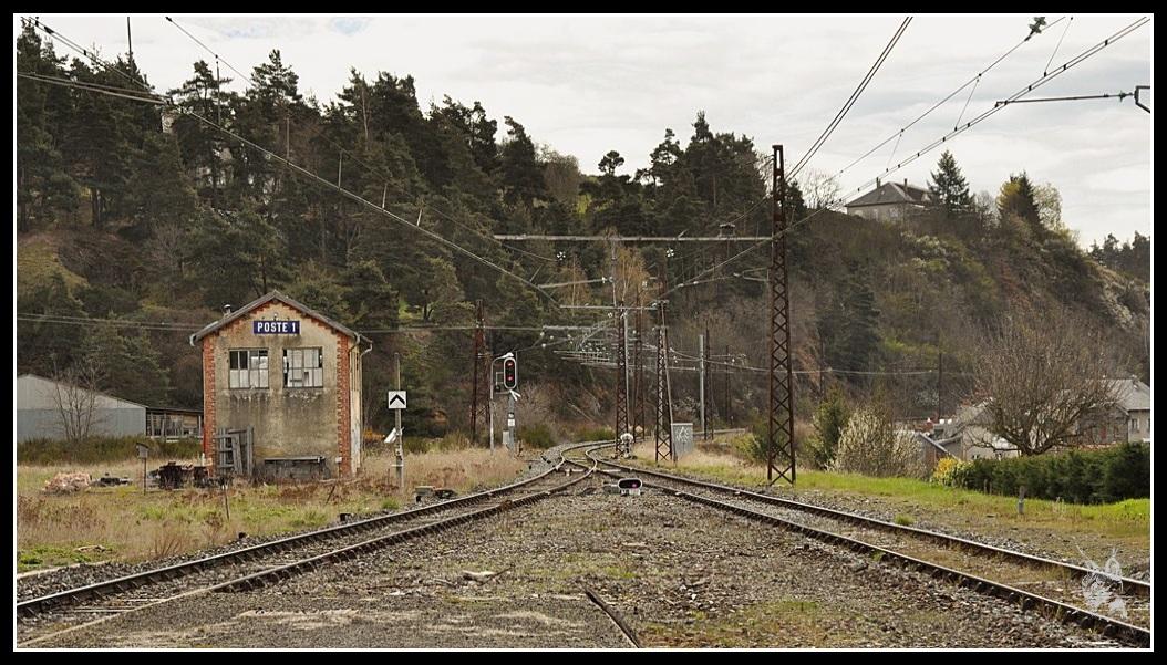 La ligne des Causses - Saint Flour, poste 1