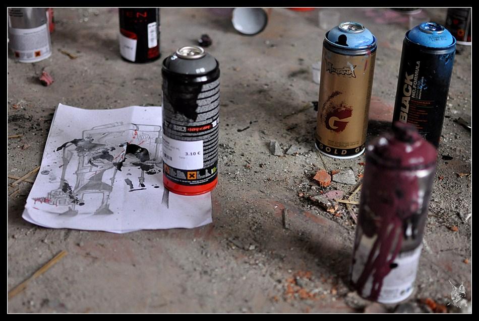 Graf' - bombes de peinture