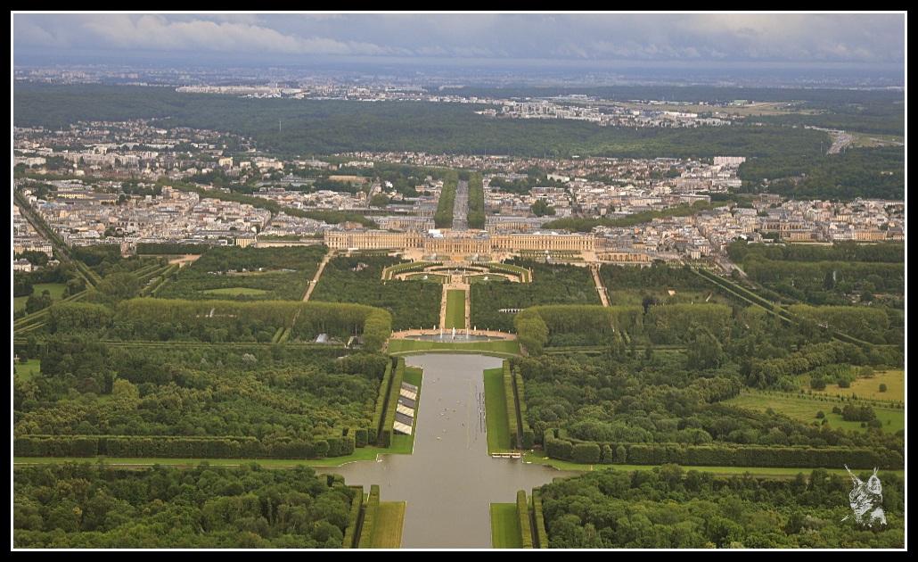 Le Chateau De Versailles Vu Du Ciel Jean Sebastien D Aboville