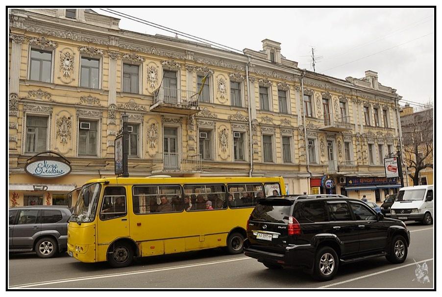 Kiev - Quartier de Podil