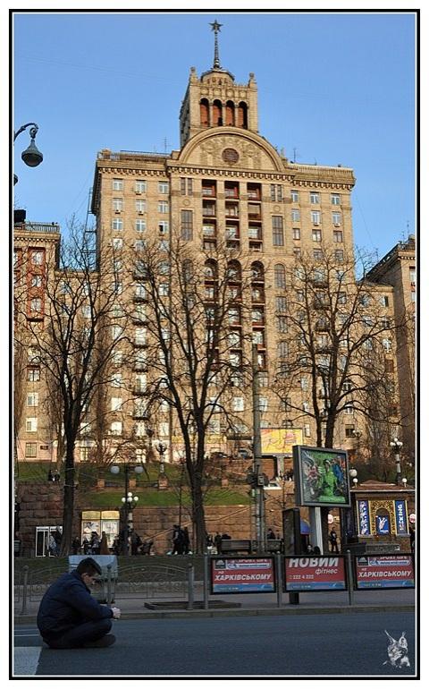 Kiev, Ukraine - Architecture soviétique ou stalinienne