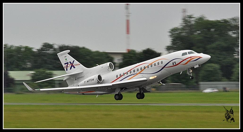 Salon du Bourget Paris Airshow 2013 - Dassault Falcon 7X
