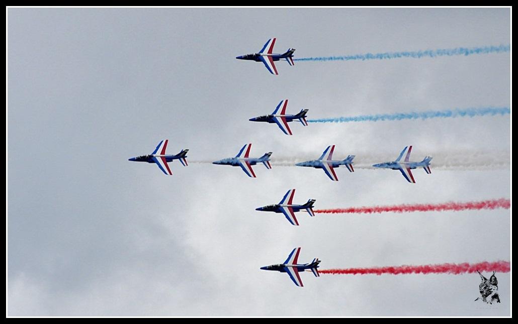Salon du Bourget Paris Airshow 2013 - La Patrouille de France