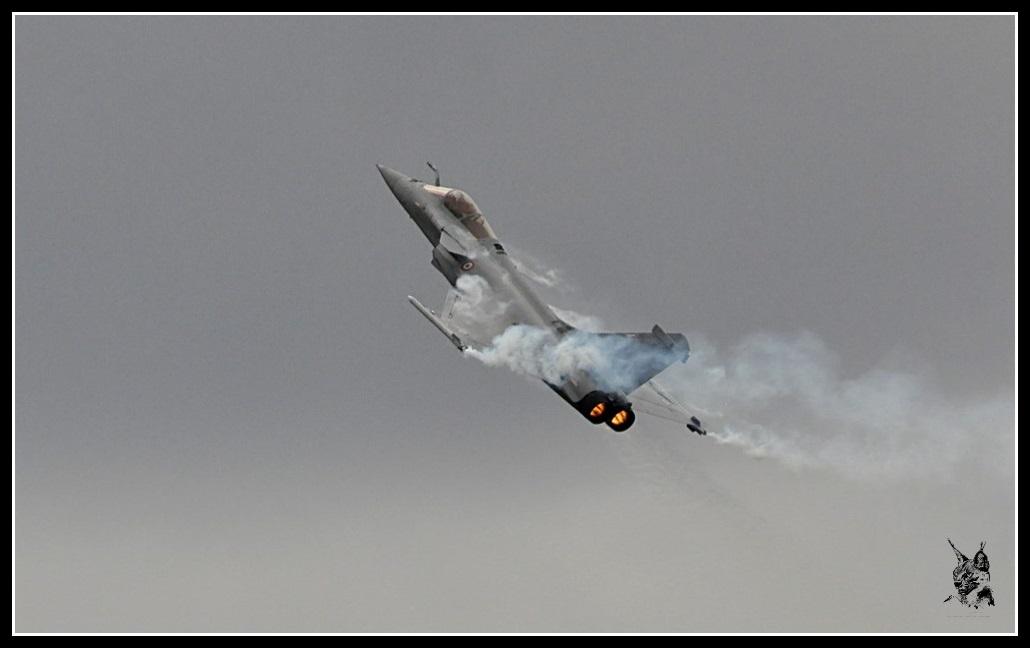 Salon du Bourget Paris Airshow 2013 - Dassault Rafale en vol