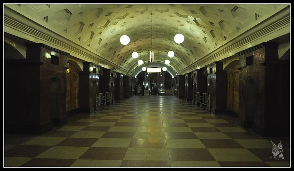 Métro de Moscou - Москва метро