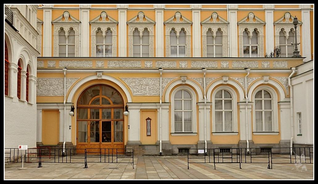 Le Kremlin de Moscou - Détail d'une façade