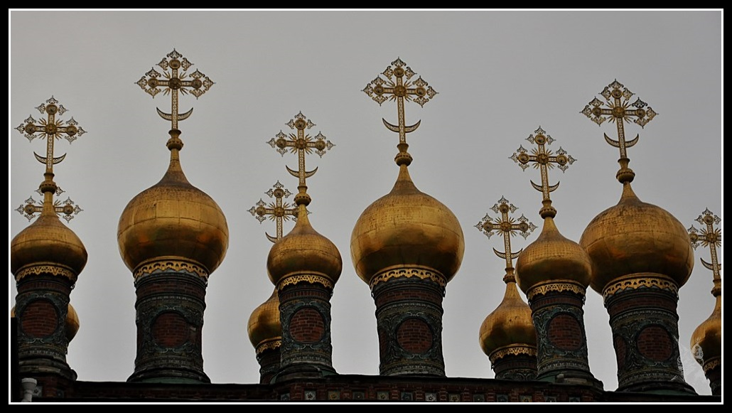Le Kremlin de Moscou - Bulbes