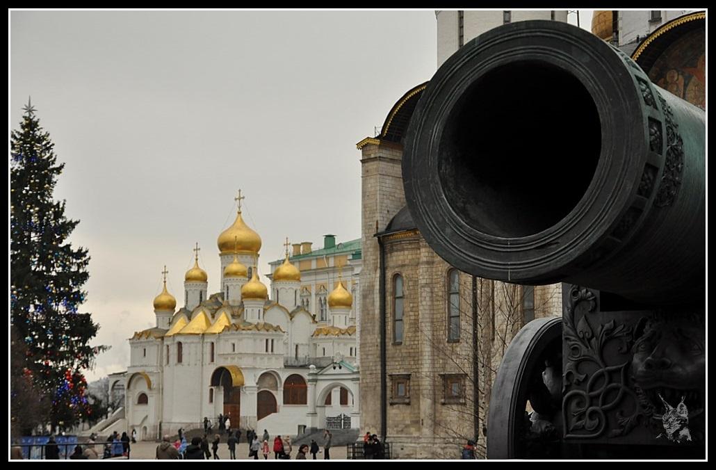 Le Kremlin de Moscou - Le roi des canons, tsar pouchka - Царь пушка