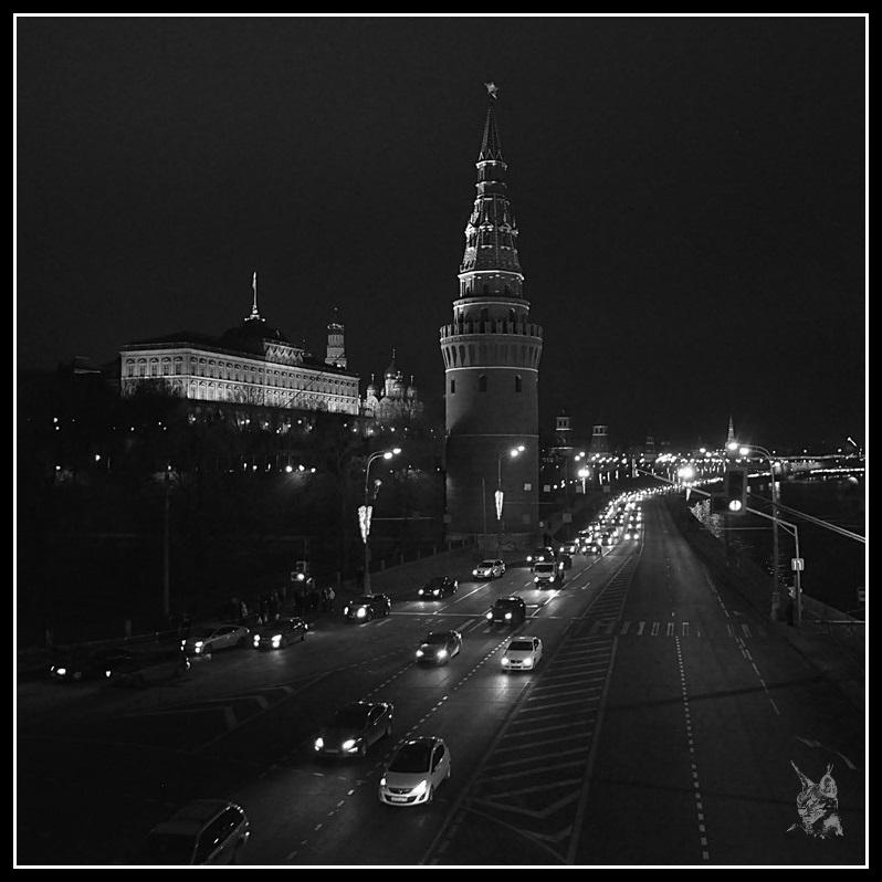 Le Kremlin de Moscou - Le long de la Moskova
