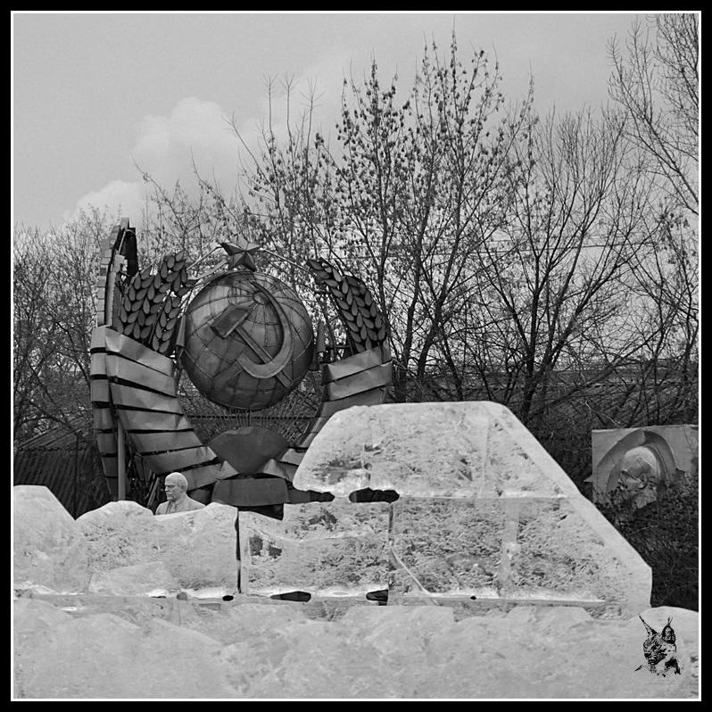 Moscou - Le parc aux statues déboulonnées