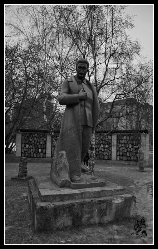 Moscou - Le Parc aux statues déboulonnées - Monument aux victimes de Staline et du Communisme