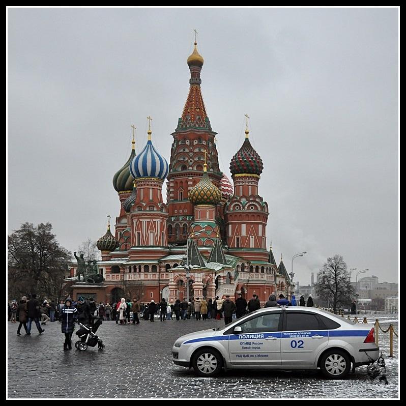 Moscou - La basilique Basile le Bienheureux