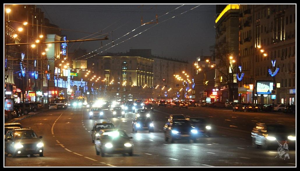 Moscou - Un grand boulevard