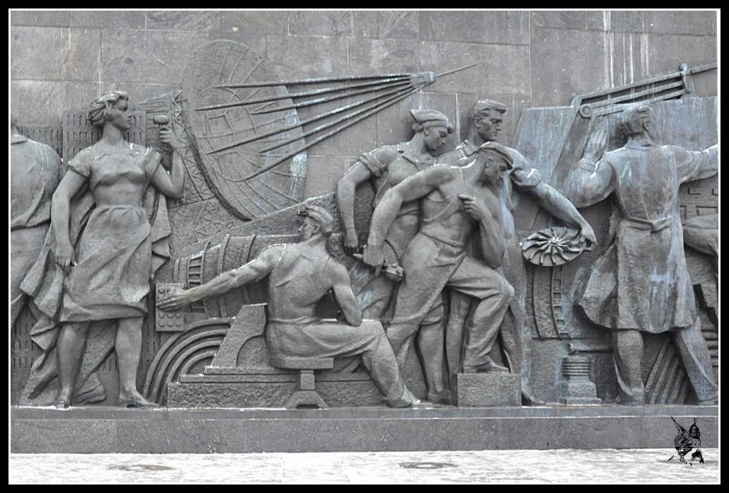 Moscou - Monument aux cosmonautes