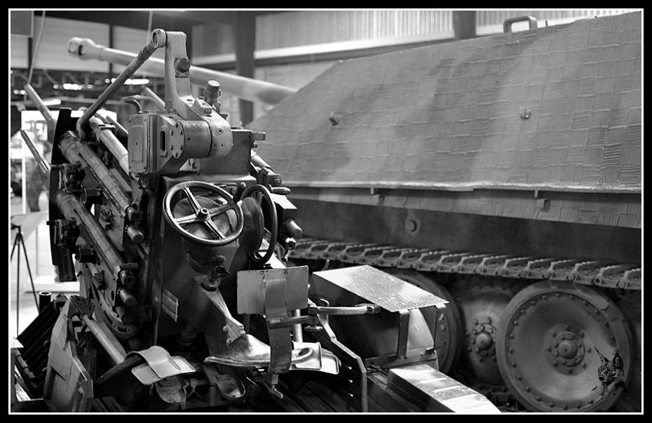 Musée des blindés de Saumur - Canon antiaérien