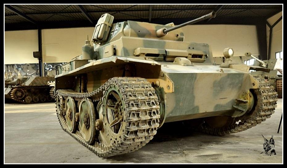 Musée des blindés de Saumur - Char Allemand Panzer II