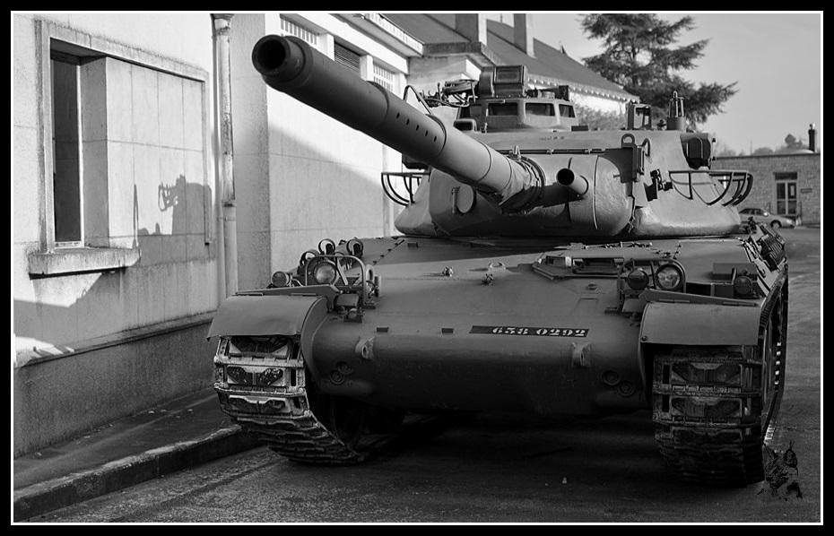 Musée des blindés de Saumur - Char AMX 30 B2