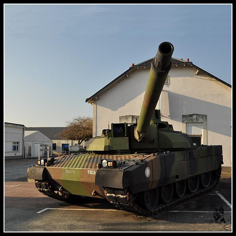 Musée des blindés de Saumur - Char Leclerc
