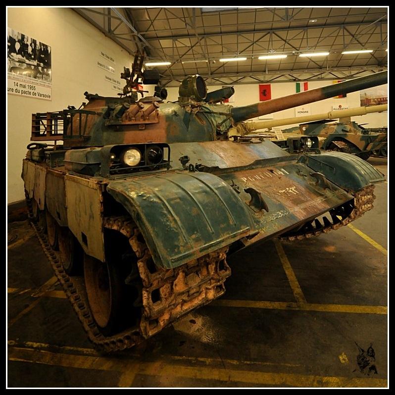 Char soviétique T-55 - Musée des blindés de Saumur