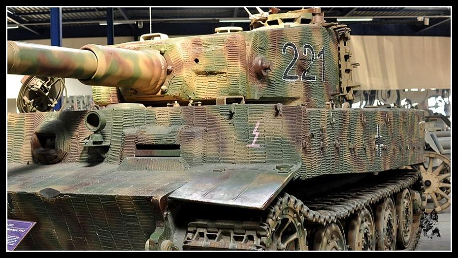 Musée des blindés de Saumur - Panzer Tigre