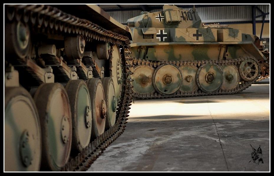 Musée des blindés de Saumur - Panzer I & III
