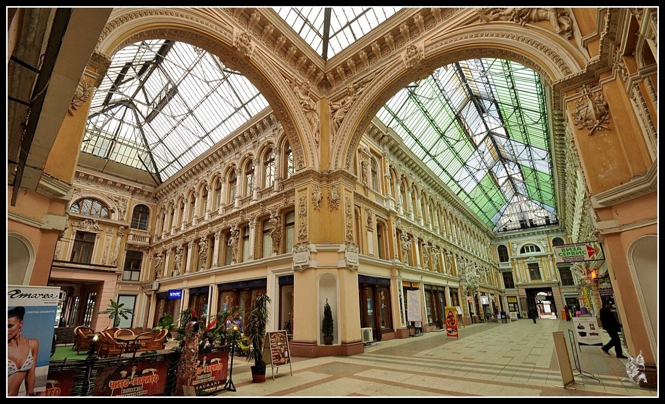 Ukraine - Odessa galerie marchande